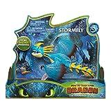 Dragons 6052262DreamWorks, Stormfly Deluxe luci e Suoni, per Bambini dai 4Anni in su, Vari Colori