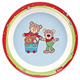 Sigikid Wild and Berry Bears Melamin Teller (21,5 x 21,5 x 2,5 cm)