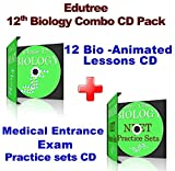 #1: Edutree - 12th Biology CBSE-NCERT Animated e Book - CD Combo Pack