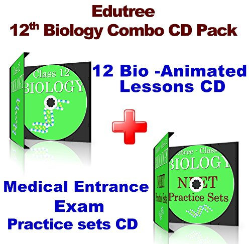 Edutree – 12th Biology CBSE-NCERT Animated e Book – CD Combo Pack 51 Ip78HPWL