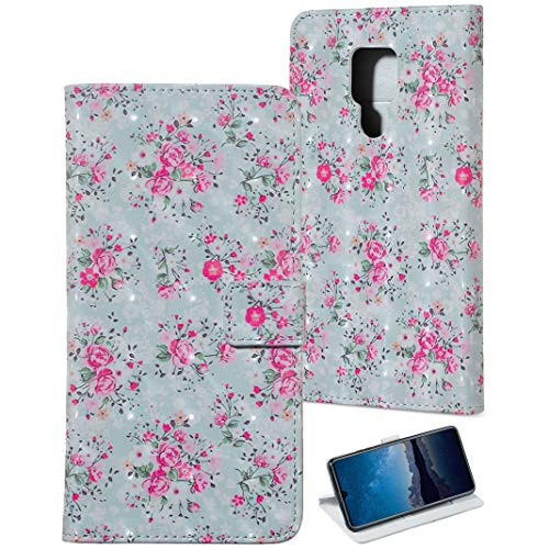 Huawei Mate 20 X Lederhülle, Premium PU Leder Schutzhülle Flip Case Brieftasche Handytasche Kartenfach mit Standfunktion und Magnetverschluss Design Relief Muster Hülle für Huawei Mate 20 X Cover -