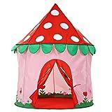 Kinder Spiel Zelt Rosa Indoor und Outdoor für Jungen und Mädchen Spielzeug Strand Zelt Spiel Haus