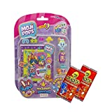 MOJIPOPS SERIES 1: 4 FIGURE BLISTER PACK ~ (INCLUDES 4 MOJI POPS + PHOTO POP) ~ PLUS 2 x GoGo TRADING CARDS