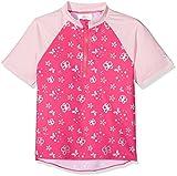 Sterntaler Kinder Mädchen Schwimmshirt, Kurzarm-Badeshirt, UV-Schutz 50+, Alter: 6-12 Monate, Größe: 74/80, Pink/Rosa