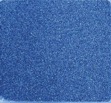 arbig ca 0,5 mm. 1 KG in BLAU -90 (Bunter Sand)