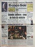 FRANCE SOIR [No 14183] du 16/03/1990 - PARIS FETERA LAMAZOU DIMANCHE -LA LOI ROYER EST CONTOURNEE / GRANDES SURFACES - COUP DE FREIN DU MINISTRE - FRANCOIS DOUBIN -LE CASINO D'ENGHIEN DOUBLE LA MISE -AU SALON DE L'ETUDIANT -GORBI 1ER PAR BOUVARD -MAFIA / CETTE PIEUVRE QUI MENACE NOS ENFANTS -LE DEFILE EMMANUELLE KHANH -LES SPORTS -LES ROCARDIENS DE RENNES...