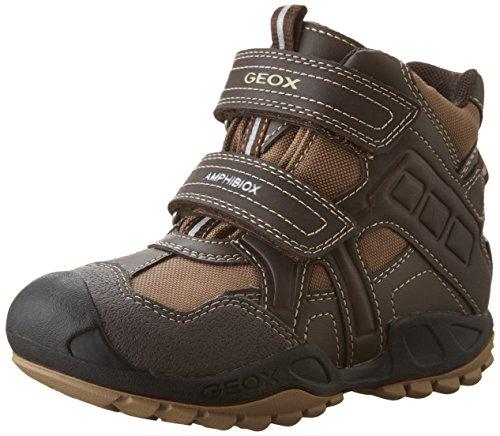 Geox J New Savage Boy B Abx A - Zapatillas para niños, color marrón (coffee/beigec0083), talla 32 EU