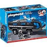 Playmobil 5564 City Action Police Tactical Unit Command Vehicle with Lights and Sound