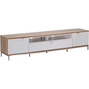 b284bb3e91dd Alphason Chaplin 2000 TV Stand for TVs up to 90 inch: Amazon.co.uk ...