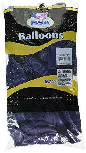 mayflower-ballons-8912-432-cm-exterieur-latex-bleu-nuit-lot-de-72