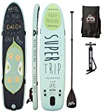 AQUA MARINA, SUPER TRIP+CARBON-Paddle+LEASH, Paddle Board, SUP, 330x75x15 cm