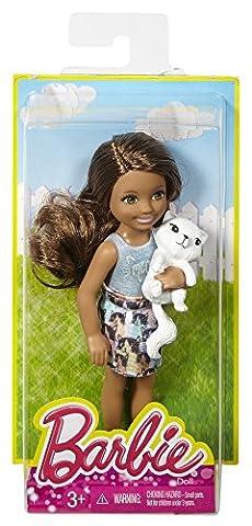 Barbie Spielset mit Chelsea-Puppe und Katze