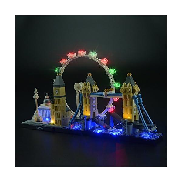 LIGHTAILING Set di Luci per (Architecture Londra) Modello da Costruire - Kit Luce LED Compatibile con Lego 21034 (Non… 2 spesavip