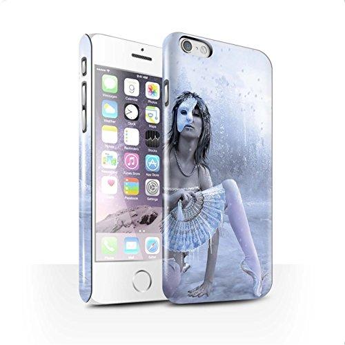 Officiel Elena Dudina Coque / Clipser Brillant Etui pour Apple iPhone 6 / Rêveur Design / Un avec la Nature Collection Masque d'Hiver