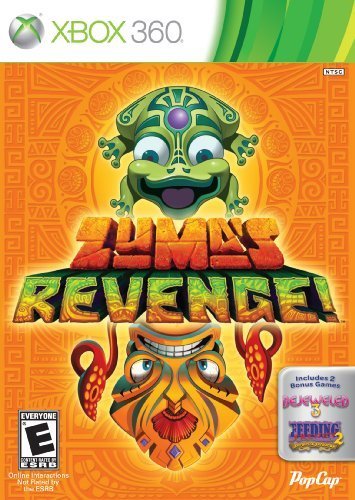 Zuma's Revenge! with Bejeweled 3 and Feeding Frenzy 2 - Xbox 360 by PopCap Games