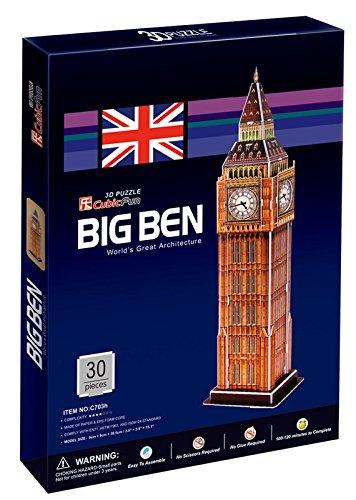 Mehano 58761-Puzzle Big Ben