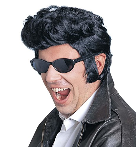 Widmann E6096 - Perücke Rock N Roll, (Halloween Elvis)