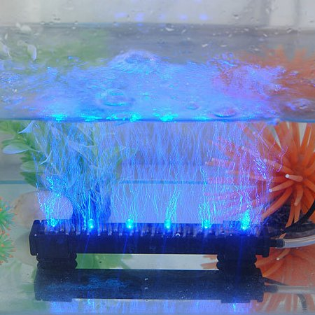 25cm-blue-air-stone-bubble-aquarium-lighting-set-manufactured-with-super-bright-led-chips-and-ideal-
