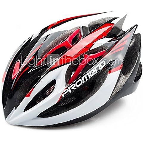 PIGE Ajuste PROMEND ciclo MTB bicicleta de carretera saftly Casco con 19 respiraderos Ultraligero 260g moldeada integralmente