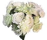 Lukis Vintage Blumenstrauß Künstliche Seidenblumen Blumen-Bouquet Hochzeit Typ1