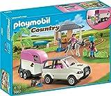 PLAYMOBIL 5667.0 Reitstall mit Pferdetransporter Spielzeug