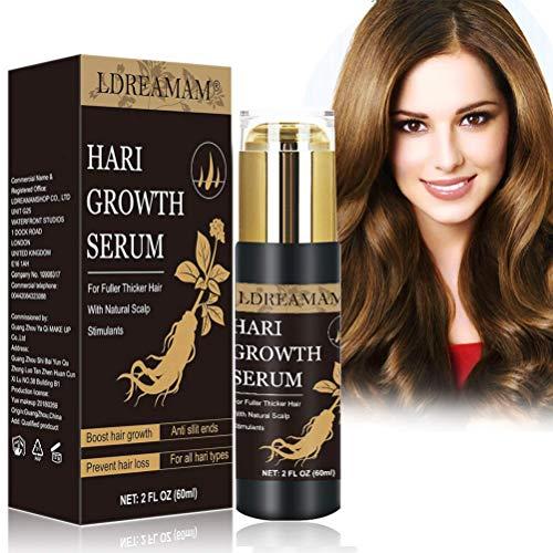 Haarwachstum Serum,Anti Haarausfall Serum,Haarausfall und Haar-Behandlung,Haar Serum,Verdickung und Nachwachen, für schnelles Haarwachstum