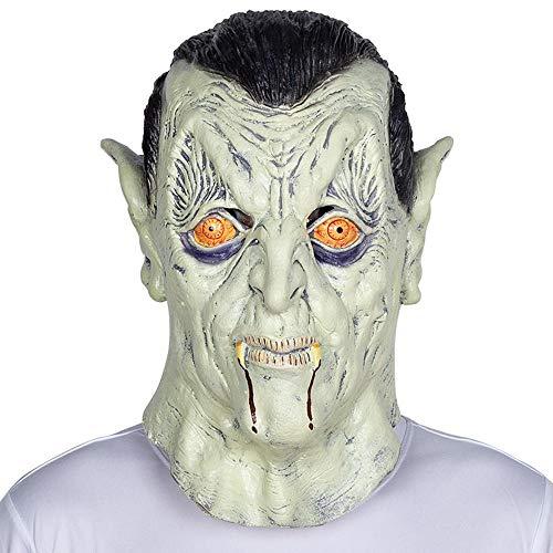 Circlefly Halloween Latex Perücke Bar Prom Party Zombie Geistermaske Streich beängstigend Leistung Requisiten