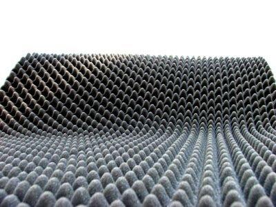 2m²-4cm Noppenschaum Platten - Absorberplatten - Schalldämmung - flammhemmend