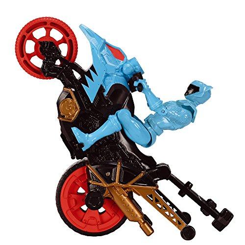 Bandai - 43075 - Power Rangers moto cascade + Figurine - 12 cm - Aqua