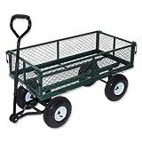 Metall-Transportkarre 97 x 52 x 51 cm Handwagen