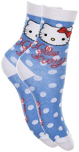 Hello Kitty Socken in Blau Gr. (Hello Kitty Socken)
