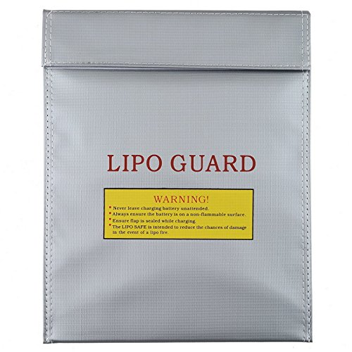Water & Wood RC LiPo Battery Safety Bag Safe Guard Charge Sack (Large)