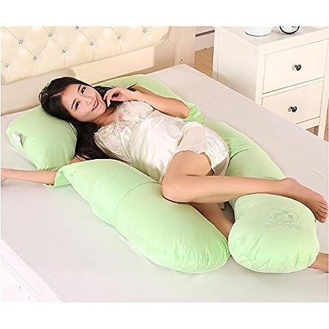 rep Mujeres embarazadas u tipo correa de almohada en forma de u embarazo deje almohada lactancia bebes almohada cintura almohadilla,apple