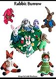 Rabbit Burrow to Knit (Knitting Patterns designed by Linda)
