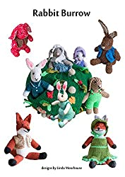 Rabbit Burrow to Knit (Cute Toys to knit Book 4)