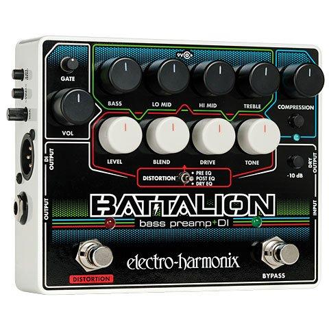 Electro Harmonix Bass Preamp & DI Bass Guitar Effects Pedal