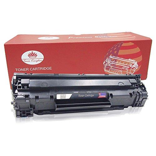 Toner Kingdom 1 Pack Toner kompatibel zu HP 85A CE285A für HP...