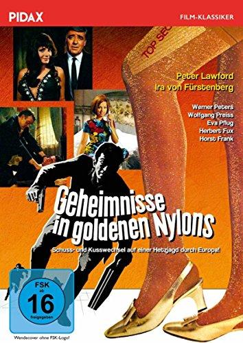 Geheimnisse in goldenen Nylons / Spannender Kriminalfilm mit Starbesetzung (Pidax Film-Klassiker) -