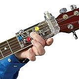 Jannyshop Professionnel en Plastique Classique Guitare Débutants Guitare Accord Pratique Outil Guitare Système d'apprentissage Aide À l'enseignement