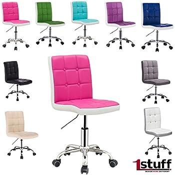 Schreibtischstuhl kinder weiß  Designer Schreibtischstuhl LADYLIKE von 1stuff - höhenverstellbar ...