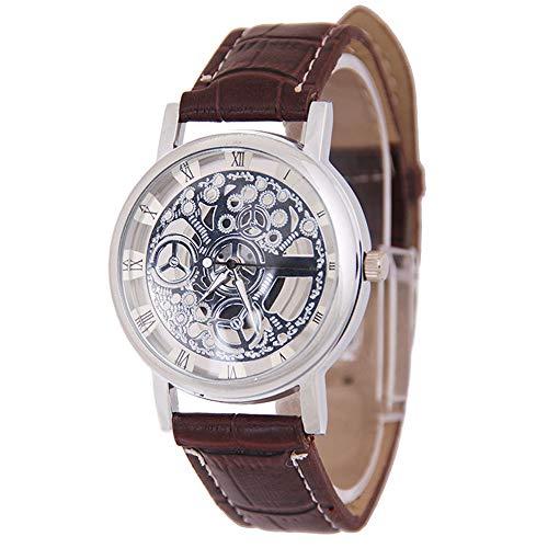 Rosepoem - Armbanduhren Herrenuhr Mode Dekorative Quarzuhr Dame Dekoration Uhren Aushöhlen...
