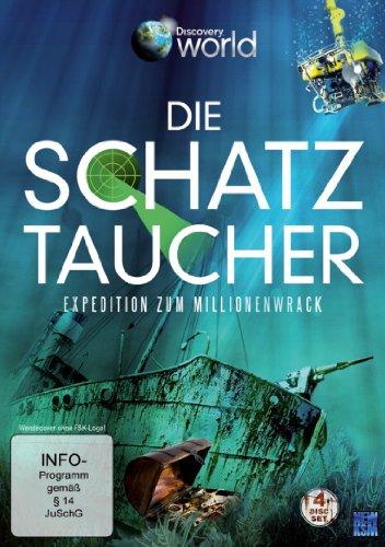 Discovery World: Die Schatztaucher - Expedition zum Millionenwrack (4 DVDs)