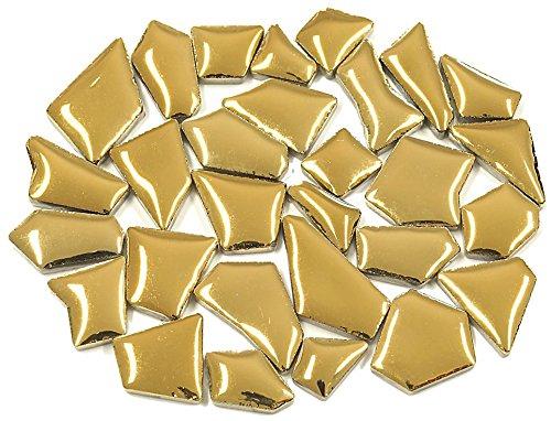 Flip Keramik Mini Mosaik Fliesen-Gold Deluxe 100g