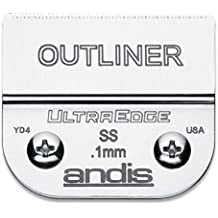 Andis 64160 - Juego de cuchillas para Andis Ultra Edge Blade Outliner, 0,1 mm