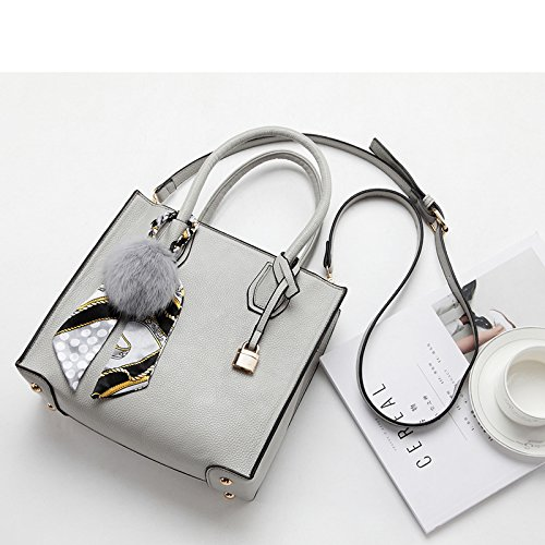 Meoaeo Borsa Per Portatile 2017 Nuova Marea Portable Coreano Temperamento Moda Warm Grey Warm grey