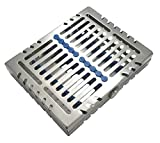 "Sterilization Cassette Tray Rack Design Dental Surgical lab 7.25""X5.75""X1.4"" ARTMAN Brand by Wise Linkers"