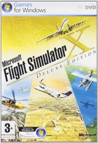 Flight Simulator X - Deluxe Edition (DVD-ROM) (englisch) (Simulator Flight Deluxe)