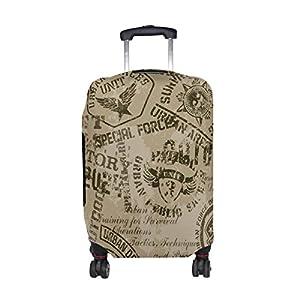 COOSUN Armée Motif Imprimer protection bagages Voyage housses lavables Spandex Bagages Valise couverture - Convient 23-32 pouces XL 31-32 po Multicolore