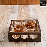 #9: Onlineshoppee Fancy Design Solid Wood Carved Tray