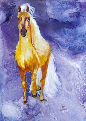 rainbow-card-company-horse-sense-greeting-card-allegra